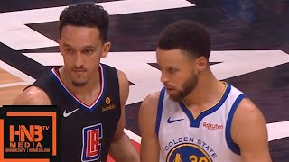 Golden State Warriors vs LA Clippers - Game 4 - 1st Half Highlights | April 21, 2019 NBA Playoffs