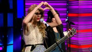 Taylor Swift - Mine - Live With Regis & Kelly HDTV
