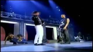 Michael Jackson and Usher dancing