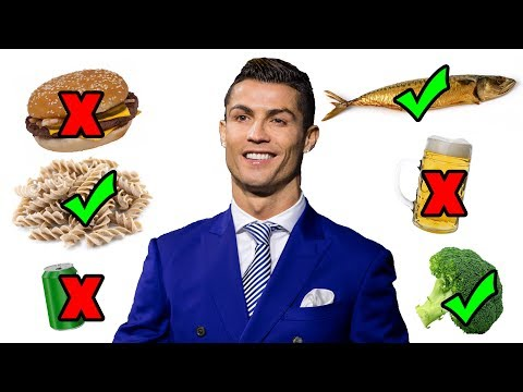 8 Sports Stars With Incredible Diets Feat. Ronaldo
