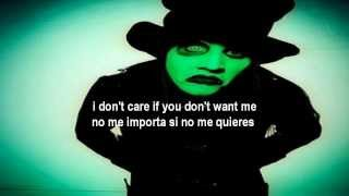 Marilyn Manson-I Put A Spell On You (Subtitulado en Español + Lyrics)