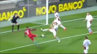 Cristiano Ronaldo Insane Bicycle Kick Goal vs Latvia HD World cup 2018
