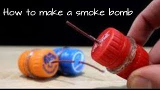 How to make simple smoke bomb at home||Latest 2018