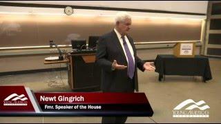 Newt Gingrich at Purdue University