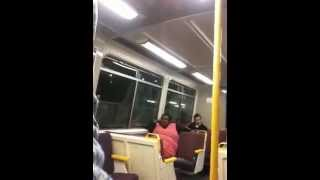 Another Abusive Drunk Fat Aboriginal Woman On Train 2
