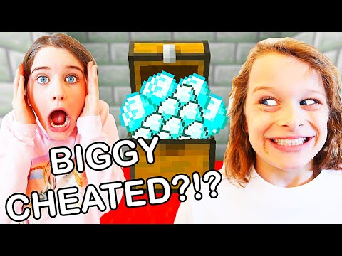 BIGGY CHEATED IN MINECRAFT CASTLE DASH Gaming w The Norris Nuts