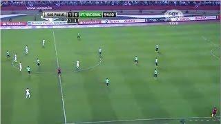 São Paulo 1 (1) - (4) 0 Atlético Nacional Copa Sudamericana 2014