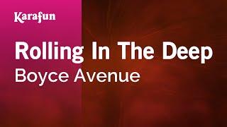 Karaoke Rolling In The Deep - Boyce Avenue *