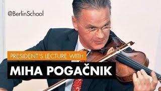 Miha Pogačnik Master Class
