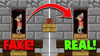 REAL vs FAKE PAINTING TROLL in MINECRAFT MURDER MYSTERY!