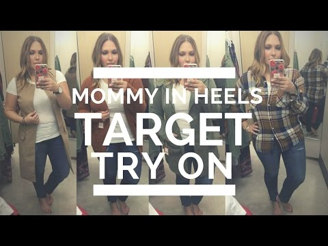 Mommy in Heels: Target Try On