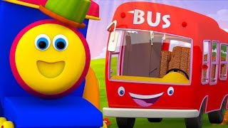 Bob The Train Cartoons For Children   +More Nursery Rhymes For Kids