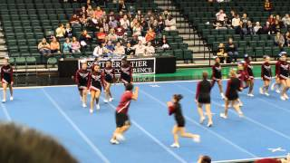 Elmira Express Fall 2013 Cheer STAC Competition