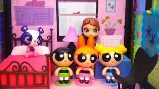 Powerpuff Girls Find Missing LPS Pets - Littlest Pet Shop and PPG Toys Review by Stories With Dolls