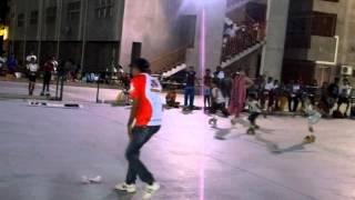 SKATING GROUP DANCE PERFORMANCE ON THEME SAVE GIRL CHILD