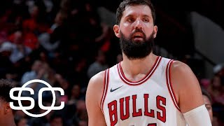 Nikola Mirotic has fractured bone in face from altercation with Bobby Portis | SportsCenter | ESPN