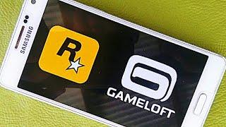 Top 14 Jogos HD OFFLINE da ROCKSTAR e GAMELOFT para Android