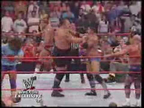 Raw & SmackDown Brawl at Raw Homecoming