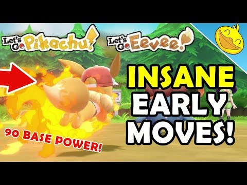 Xxx Mp4 How To Get INSANE EARLY GAME MOVES For PIKACHU EEVEE Let 39 S Go P E Marvelous Moves Location 3gp Sex