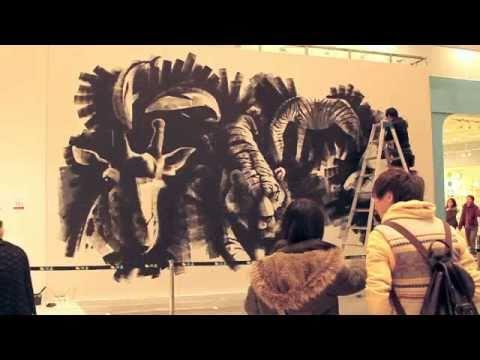 ライブペイントアクト LIVE PAINT act. Art of Zoo