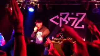 Cr7z - Über Wasser laufen (LIVE - UNDERGROUND KÖLN)