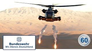 60 Sekunden Bundeswehr: CH-53 (Transporthubschrauber)