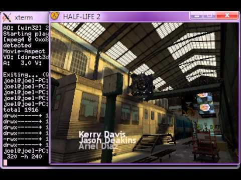 Half-Life 2 in low resolution [320x240]
