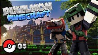 PIXELMON FR S4 #5 - 3EME BADGE - Série multi | MOD Pokemon Minecraft Français