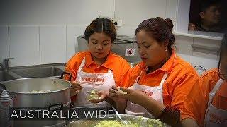 Tasmanian pub opens its kitchen to refugees