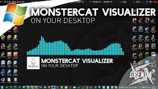 Monstercat Visualizer On Desktop - Rainmeter (Windows)