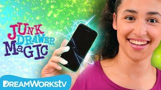 iPhone out of Nowhere Trick | JUNK DRAWER MAGIC