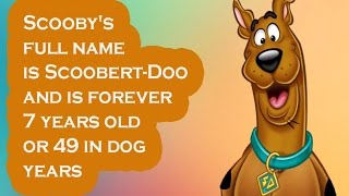 Scooby Doo Facts  - Top 10 Facts About Scooby Doo