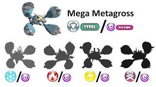 Mega Metagross - Pokemon Mega Type Swap.