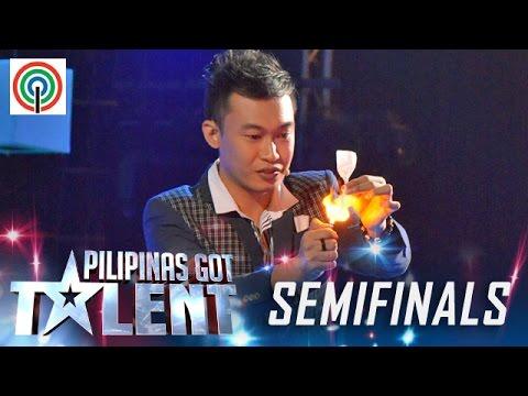 Pilipinas Got Talent Season 5 Live Semifinals Ody Sto. Domingo Close Up Magician