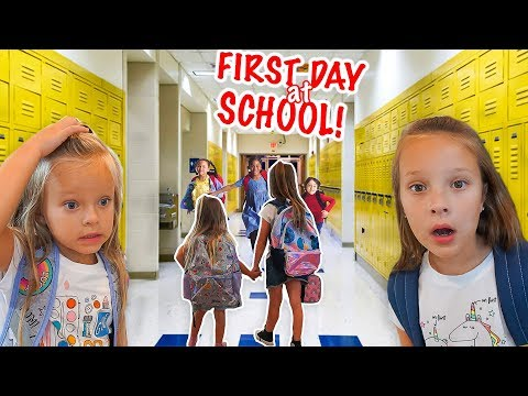 Xxx Mp4 SISTERS FIRST DAY At NEW SCHOOL ✏️ Back To School 3gp Sex