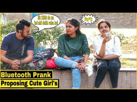 Bluetooth Prank Proposing Cute Girl s Epic Reactions Pranks In India By TCI