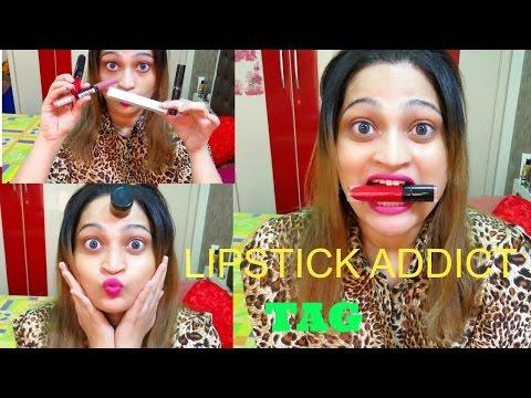The Lipstick Addict Tag - MY FAVOURITE AND WORST  LIPSTICK - Priyanka George