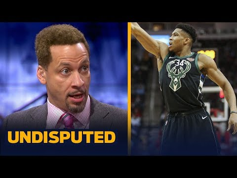 Chris Broussard was more impressed with Giannis performance than James Harden NBA UNDISPUTED