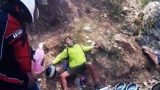 Random Act of Kindness - Helping a Fallen Biker