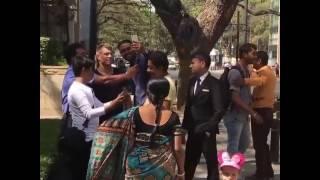 David Warner  fight with Bangalore people.