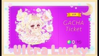 LINE Play - Butterfly Mirage Gacha Ticket (Ultra Rare Luck)