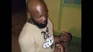 Drunken man does impressive dancehall freestyle