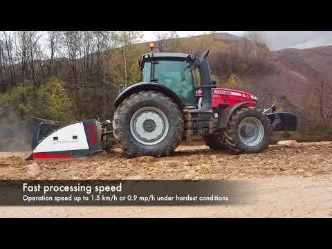 Xxx Mp4 PTH Crusher 2500 RS PTH Ripper Heavy Duty Maintaining Hauling Roads For Dump Trucks 3gp Sex