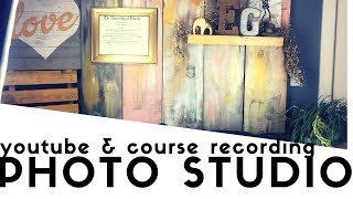 Photo Lamps and Studio | For Youtube and Course Production Space