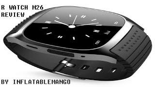 Gear Best RWatch M26 Smart Watch Tech/Gadget  Review