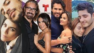 Sin senos sí hay paraíso ... and their real life partners