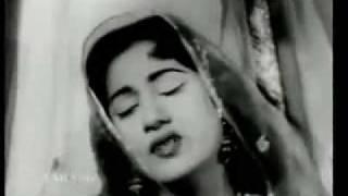 Guzra-Hua- Zamana-1956 film Shirin Farhad, Lata-OLd-S-Gold-sonG