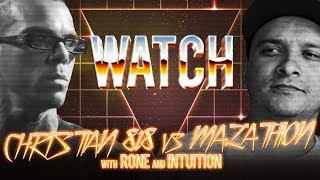 WATCH: CHRISTIAN 818 vs MALATHION with RONE and INTUITION