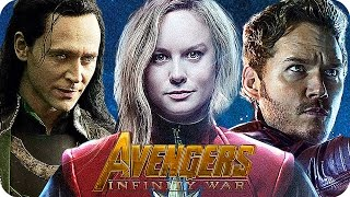 THE AVENGERS 3 INFINITY WAR Movie Preview 3: Who Will Be In The Movie? (2018)