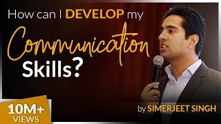 How to develop your Communication Skills by International Keynote Speaker Simerjeet Singh   CC 8